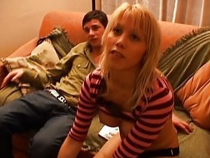 Amateur blonde shemale fucks guy - home porn video